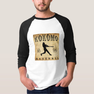 1896 Kokomo Indiana Baseball T Shirts