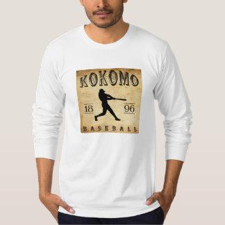 1896 Kokomo Indiana Baseball Tee Shirts