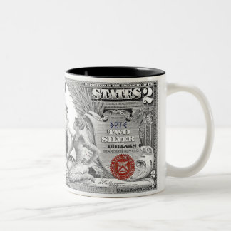 1896 Silver Certificate Educational Series 2 Mug