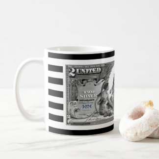1896 Silver Certificate ~ Electricity ~ Commerce~ Coffee Mug