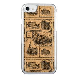 1896 Vintage Sydney Australia Carved iPhone 8/7 Case