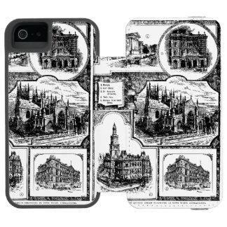 1896 Vintage Sydney Australia Incipio Watson™ iPhone 5 Wallet Case