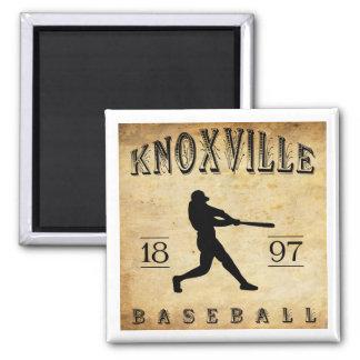 1897 Knoxville Tennesee Baseball Magnet