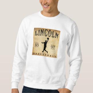 1897 Lincoln Nebraska Basketball Sweatshirt