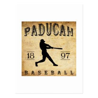 1897 Paducah Kentucky Baseball Postcard