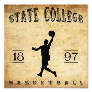 1897 State College Pennsylvania Basketball Photo