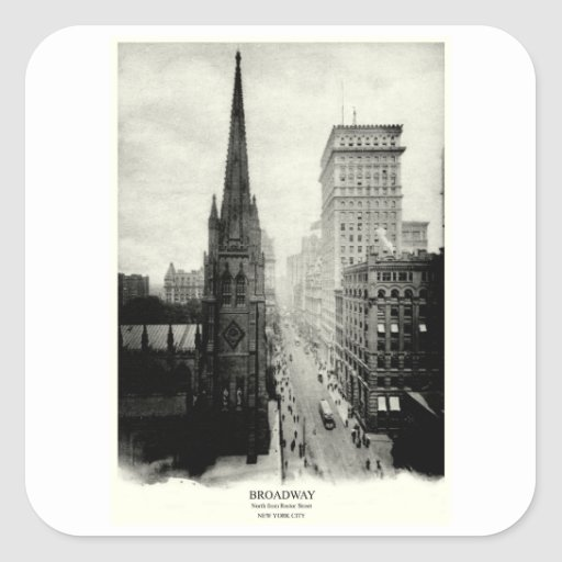 1898 Broadway New York City Sticker