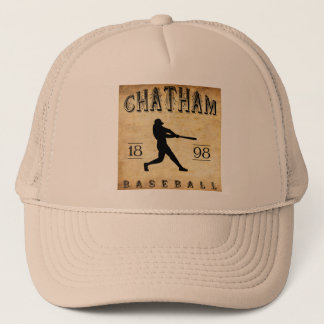 1898 Chatham Ontario Canada Baseball Trucker Hat