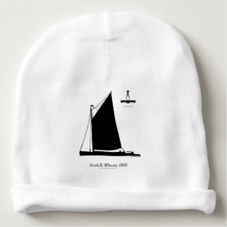 1898 Norfolk Wherry - tony fernandes Baby Beanie