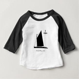 1898 Norfolk Wherry - tony fernandes Baby T-Shirt