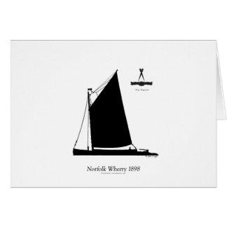 1898 Norfolk Wherry - tony fernandes Card