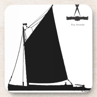 1898 Norfolk Wherry - tony fernandes Coaster