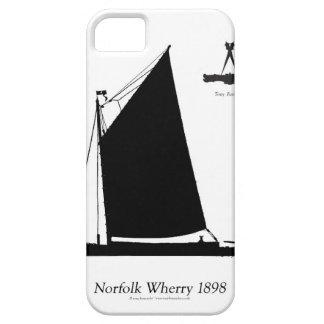 1898 Norfolk Wherry - tony fernandes iPhone 5 Cases