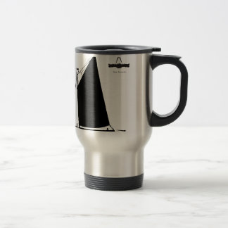 1898 Norfolk Wherry - tony fernandes Travel Mug
