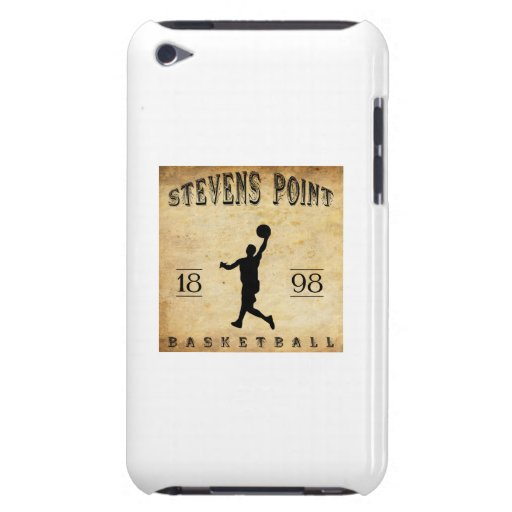 1898 Stevens Point Wisconsin Basketball iPod Case-Mate Cases