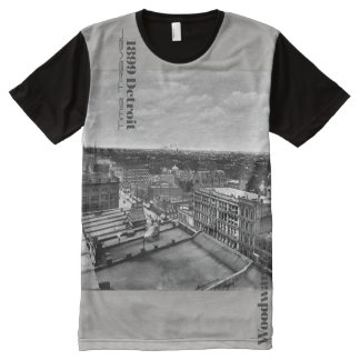 1899 Detroit - Time Travel Woodward All-Over-Print T-Shirt