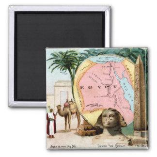 1899 Egypt Trading Card Magnet