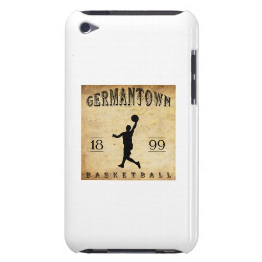 1899 Germantown Pennsylvania Basketball iPod Touch Case