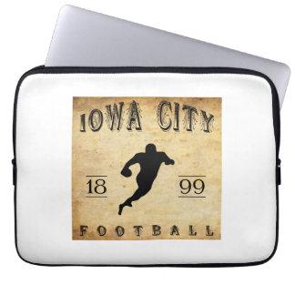 1899 Iowa City Iowa Football Laptop Sleeve