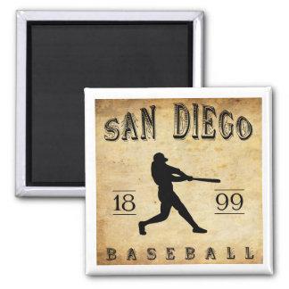 1899 San Diego California Baseball Magnet