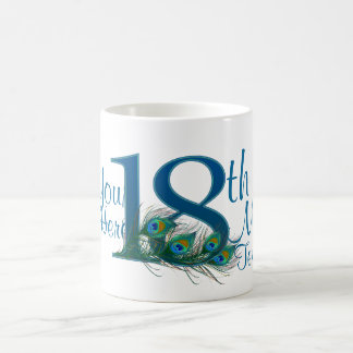 # 18 - 18th Wedding Anniversary or 18th Birthday Coffee Mug