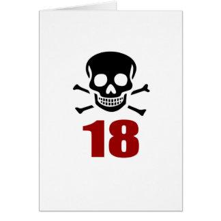 18 Birthday Designs Card