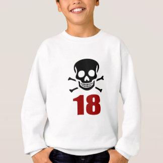 18 Birthday Designs Sweatshirt