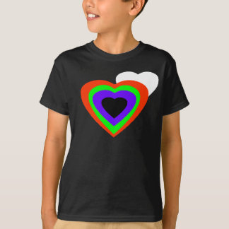 18 Color Hearts jGibney The MUSEUM Zazzle Gifts Tshirt