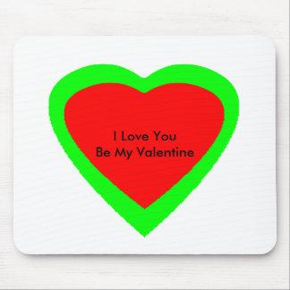 18 Color Hearts You Choose U Design jGibney Mouse Pad