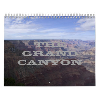 18 Month Grand Canyon 2015- 16 Wall Calendars