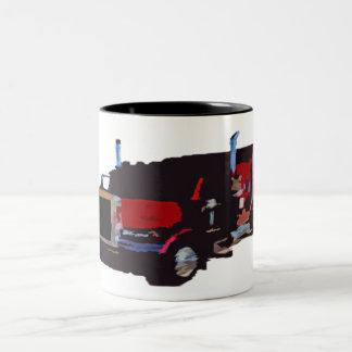 18 wheeler mug
