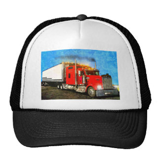 18 Wheeler Trucker Hat