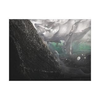 """18""""x24"""" Windansea Foam and Rock Canvas Print"""