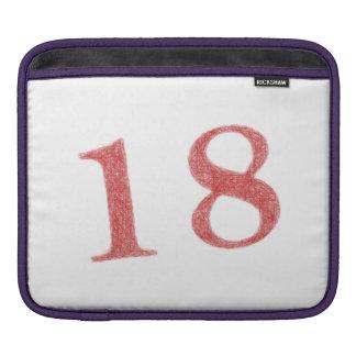 18 years anniversary sleeves for iPads