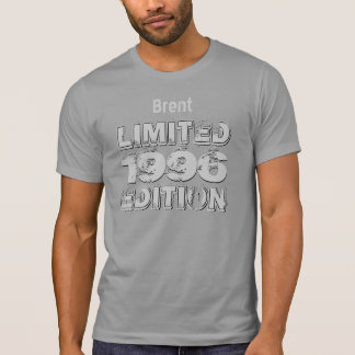 18th 19th or Any Year 1996 Birthday Ltd Ed A05 T Shirt