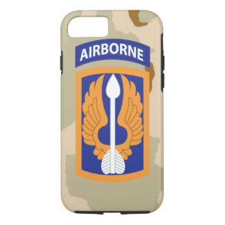 "18th Aviation Brigade ""Black Barons"" Desert Camo iPhone 7 Case"