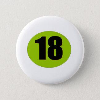18th Birthday 2 Inch Round Button