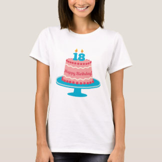 18th Birthday Cake T-Shirt