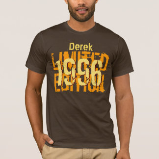 18th Birthday Gift 1996 or Any Year Brown Gold T-Shirt