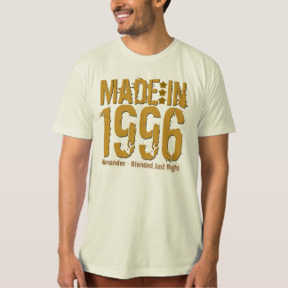 18th Birthday Made in 1996 or Any Year NATURAL Shirts