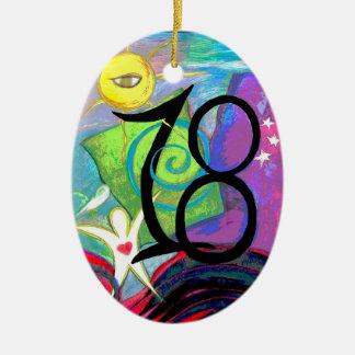 18th Birthday ornament