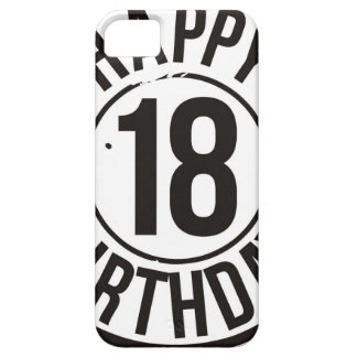 18TH BIRTHDAY STAMP EFFECT CASE FOR THE iPhone 5