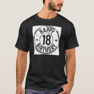 18TH BIRTHDAY STAMP EFFECT T-Shirt