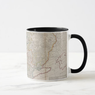 18th Century Antique Map of Europe, Mug / Cup