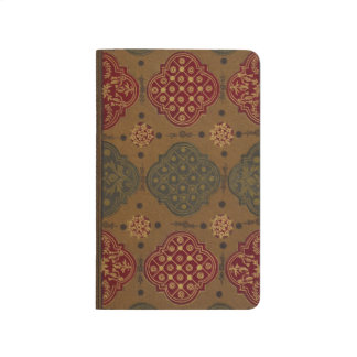 18th Century French Bookbinding w/Marbled Endpaper Journal
