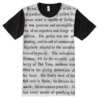 18th Century Text T-Shirt