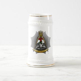 18th Degree: Knight of the Rose Croix Beer Stein