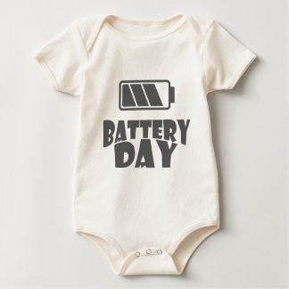 18th February - Battery Day - Appreciation Day Baby Bodysuit