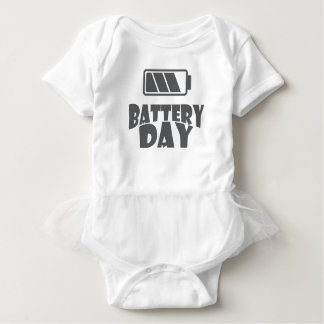 18th February - Battery Day - Appreciation Day Baby Bodysuit