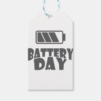 18th February - Battery Day - Appreciation Day Pack Of Gift Tags